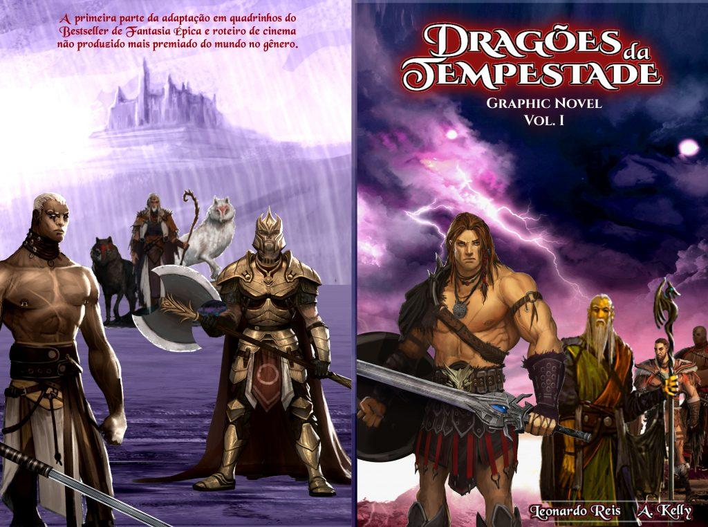 Graphic Novel Dragões da Tempestade