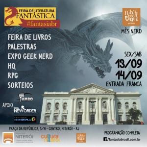Fantasia Brasil 2019 Feira de Literatura Fantástica